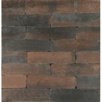 Stapelblok Beton Getrommeld Bruin/Zwart 60x15x15 cm