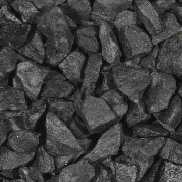 Split Grind Basalt Zwart 30-60 mm - Mini Bigbag á 500 kg