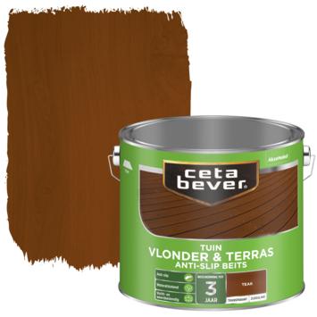 Cetabever vlonder & terras anti-slip beits teak 2,5 liter