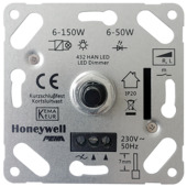 Peha Standard Inbouwdimmer Led/ Gloei/ Halogeen 6-50 Watt