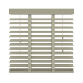 GAMMA horizontale jaloezie hout 50 mm 945 leem 80x130 cm