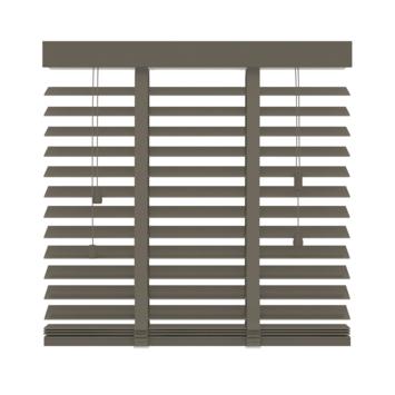 GAMMA horizontale jaloezie hout 50 mm 946 taupe 80x180 cm