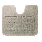 Sealskin toiletmat Man & Woman 60x50 cm linnen
