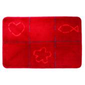 Sealskin badmat Tack 60x90 cm rood