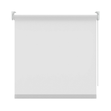 GAMMA rolgordijn uni lichtdoorlatend 833 wit 120x190 cm