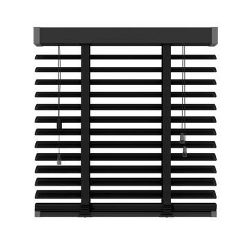 GAMMA horizontale jaloezie 320 mat zwart 200x180