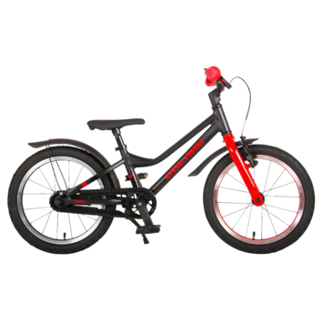 Kinderfiets Volare Blaster Black Red 16 inch
