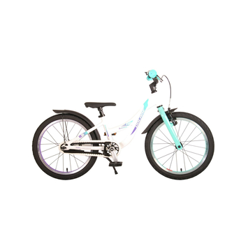 Kinderfiets Volare Glamour Parelmoer Mint Green 18 inch