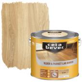 Cetabever vloer- & parketlak transparant blank zijdeglans 2,5 liter