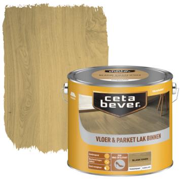 Cetabever vloer- & parketlak transparant blank eiken zijdeglans 2,5 liter