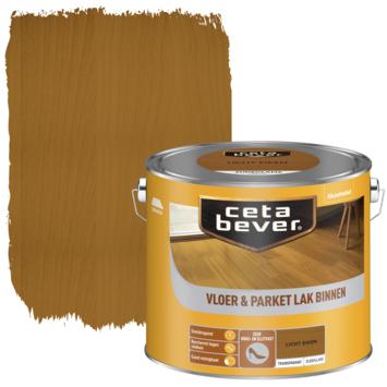 Cetabever vloer- & parketlak transparant licht eiken zijdeglans 2,5 liter