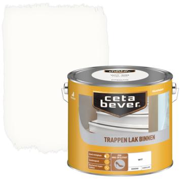 Cetabever trappenlak dekkend wit zijdeglans 2,5 liter