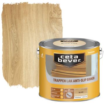 Cetabever trappenlak transparant anti-slip blank zijdeglans 2,5 liter