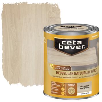 Cetabever meubellak natuurlijk effect white wash 750 ml
