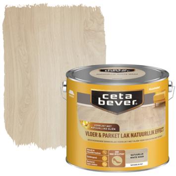 Cetabever vloer- en parketlak natuurlijk effect white wash 2,5 liter