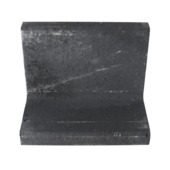 L-element Beton Zwart 50x30x40 cm