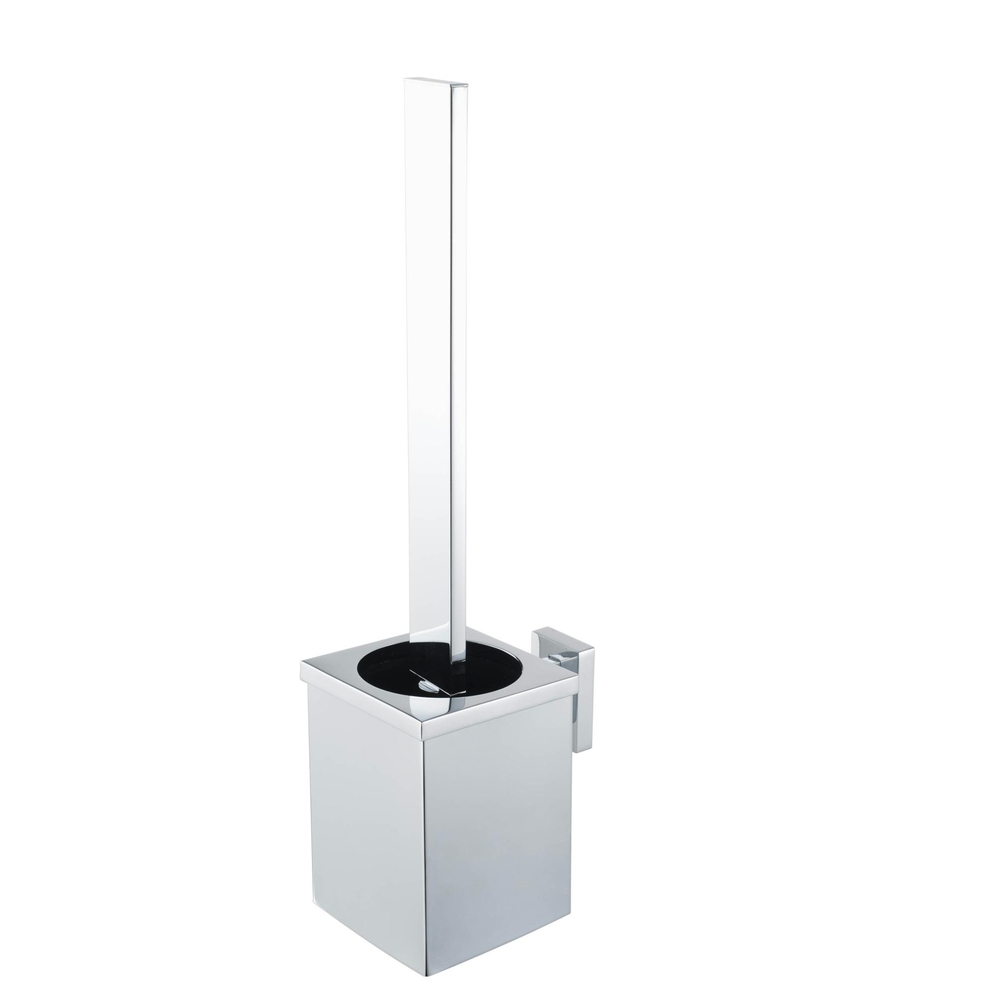 Haceka Edge Toiletborstelset chroom