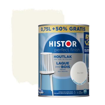 Histor Perfect Finish houtlak RAL 9001 zijdeglans 750 ml + 50%