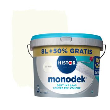 Histor Monodek latex RAL 9010  8 liter + 50%