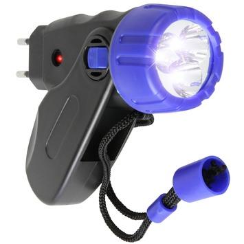 Genoeg GAMMA | GAMMA LED zaklamp oplaadbaar zwart/blauw kopen? | QC49