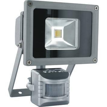 GAMMA | GAMMA breedstraler met bewegingsmelder 10W LED zilver kopen ...