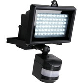 GAMMA breedstraler met bewegingsmelder 4W LED zwart