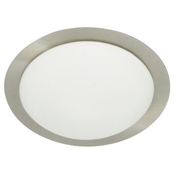 GAMMA plafonnière Phoenix wit/staal 21,5 cm