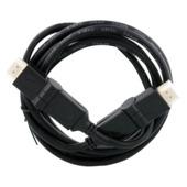 Q-Link HDMI kabel high speed gold plated 3D 2 meter draaibaar