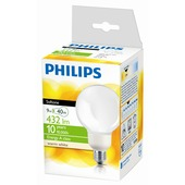 Philips spaarlamp Globe E27 8W warm wit