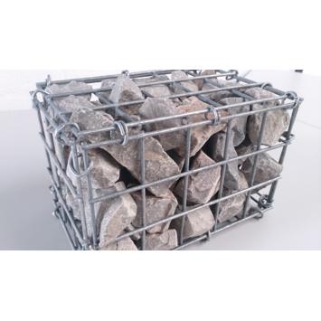 Schanskorf gegalvaniseerd 100x50x50 cm 4 mm draaddikte