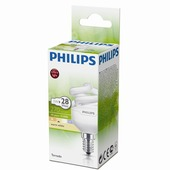 Philips spaarlamp Tornado E14 5W warm wit