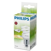 Philips spaarlamp Tornado E27 8W warm wit