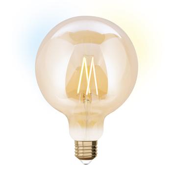 G125  E27 iDual wit filament-Amber