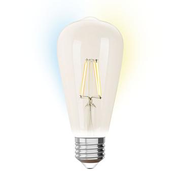 ST64  E27 iDual wit filament-Clear