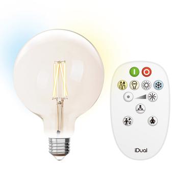 G95 E27 iDual wit filament-Clear + RC