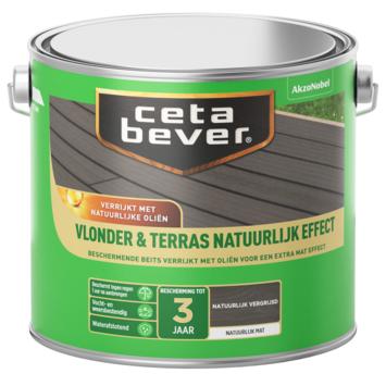 Cetabever vlonder & terras natuurlijk effect vergrijsd 2,5l