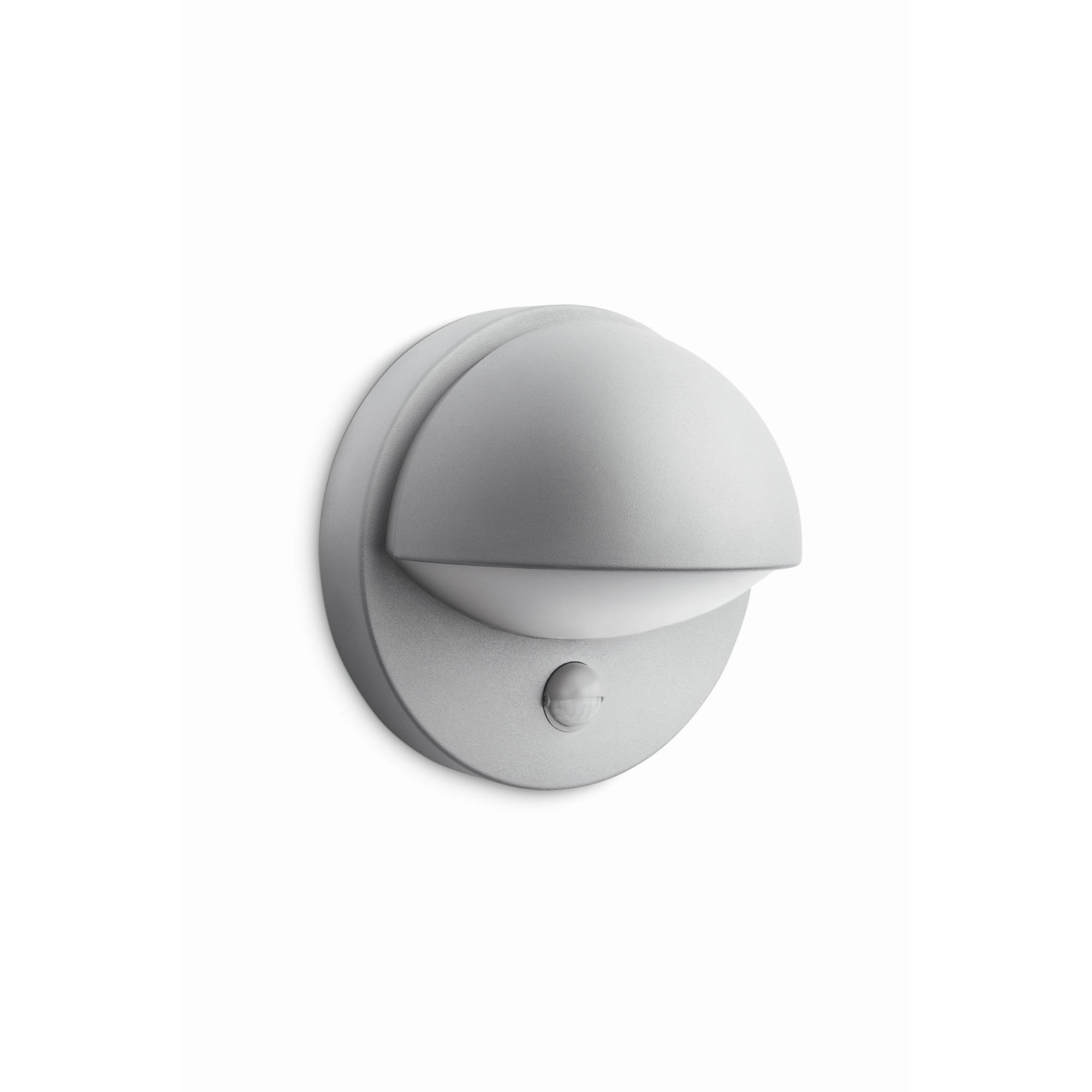 Philips mygarden june wandlamp 230 v 12 w e27 grijs