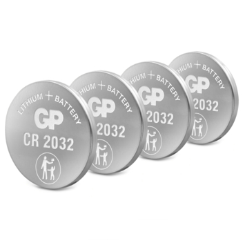 GP knoopcel CR2032 4 stuks