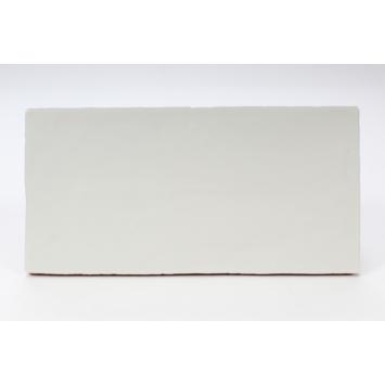 Wandtegel Tiber mat wit 15x30 cm 1m²