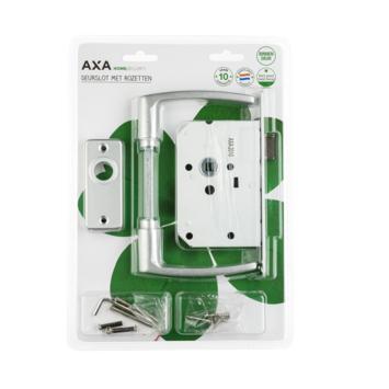 AXA Insteekslot loopslot set compleet met patentschild
