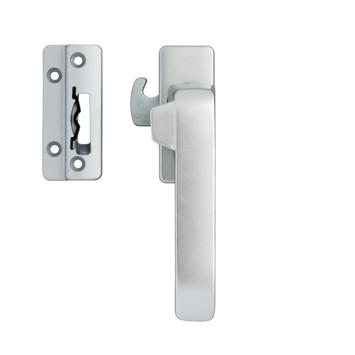 AXA Raamsluiting design met nok rechts aluminium