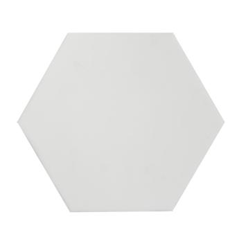 Wandtegel Rustic Hexagon mat wit 15x15 cm 0,85m²