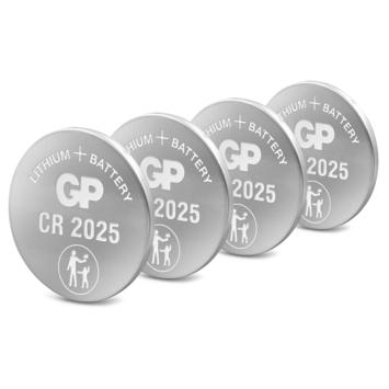 GP knoopcel CR2025 4 stuks