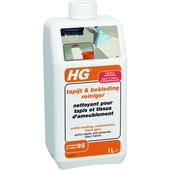 HG tapijt & bekledingreiniger 1L