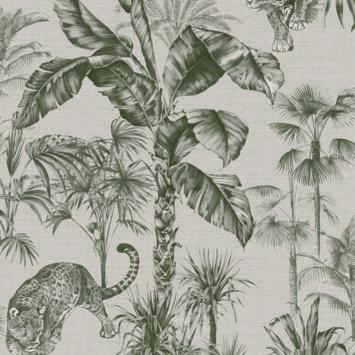 Vliesbehang Zanzibar groen 108211