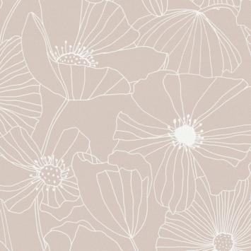 Vliesbehang Vieve roze 111752