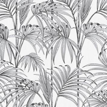 Vliesbehang Honolulu palm glitter parel 112084
