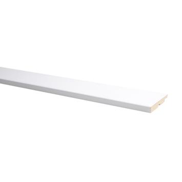Plint Model Recht 75x14MM - Voordeelpak 6 stuks (4+2 gratis)