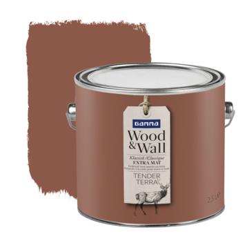 Gamma Wood&Wall krijtverf Tender Terra 2,5 liter