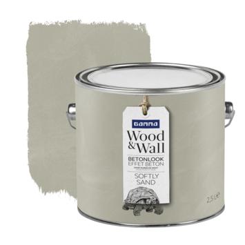 Gamma Wood&Wall betoneffect Softly Sand 2,5 liter
